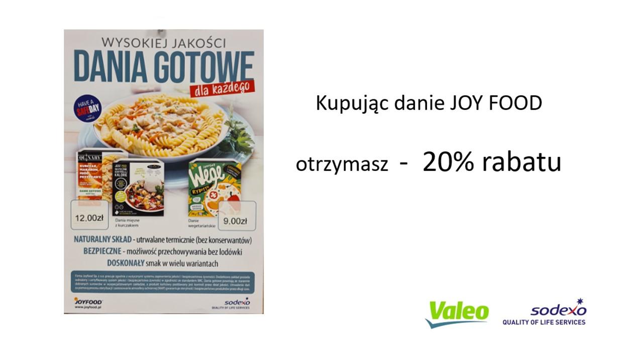 JOY FOOD  - 20% TANIEJ